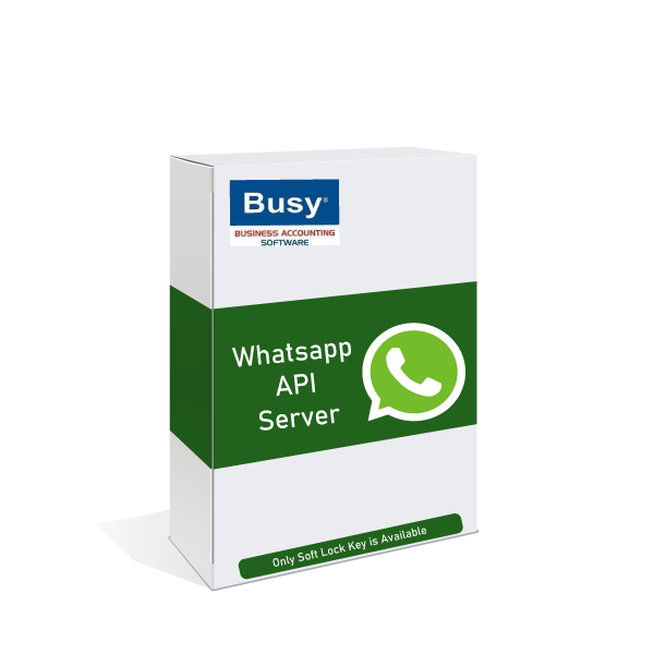 whatsap message from busy software