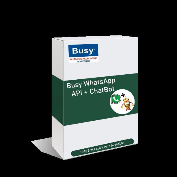 busy software whatsapp addon new box